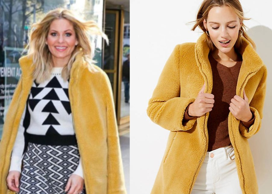 Candace Cameron's Yellow Jacket – Found!