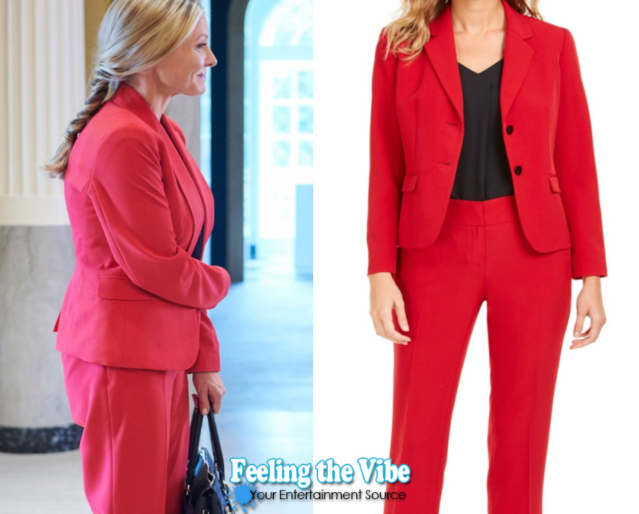 Red suit in Hallmark Channel's Christmas at Graceland