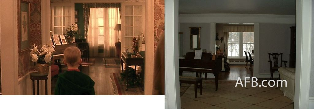 The Home Alone House Foyer Inside Photos