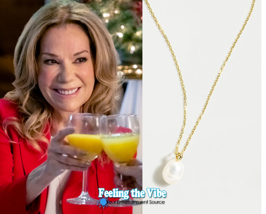 Kathie Lee GIfford's necklace in A Godwink Christmas Meant for Love movie