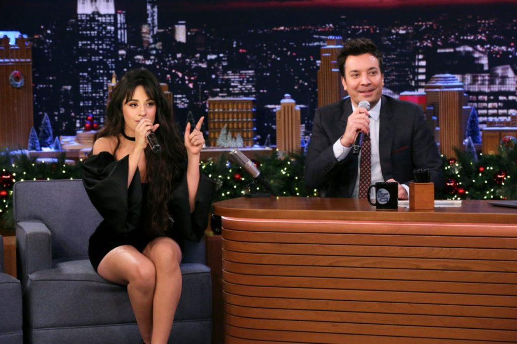 Camila Cabello on The Tonight Show with Jimmy Fallon - December 5, 2019