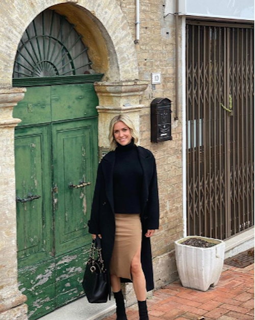 Kristin Cavallari visits Italy to trace her roots