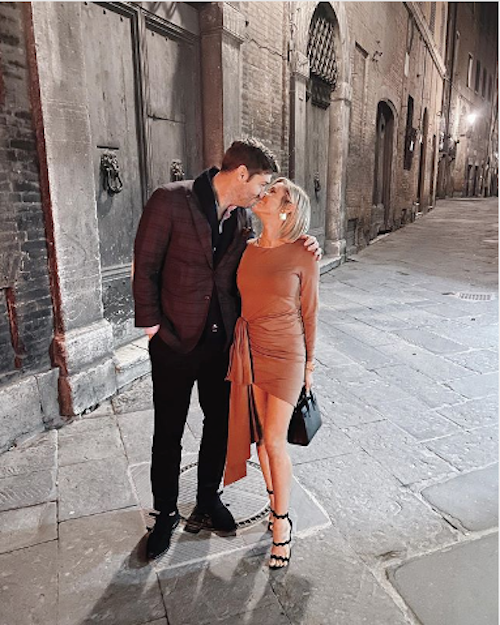 Kristin Cavallari and Jay Cutler PDA on the Streets of Italy