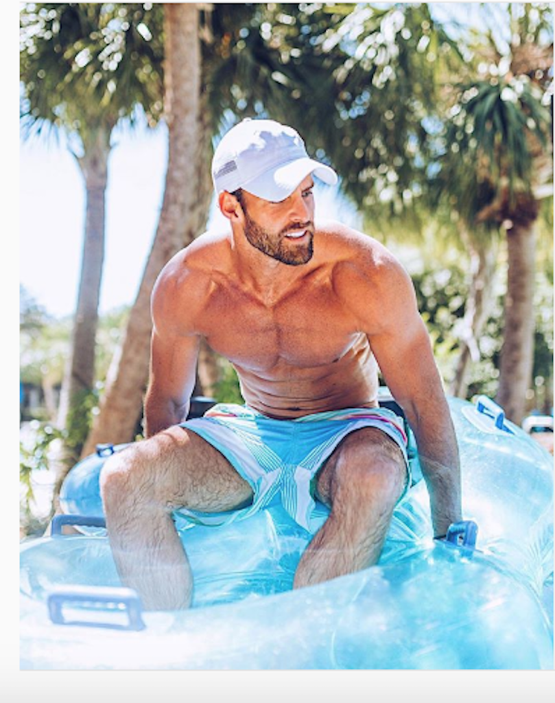 Robby Hayes from The Bachelorette
