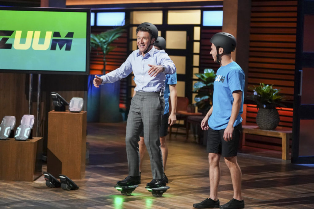 5 Photos from 'Shark Tank' Episode with Zuum, SlumberPod & Fortress