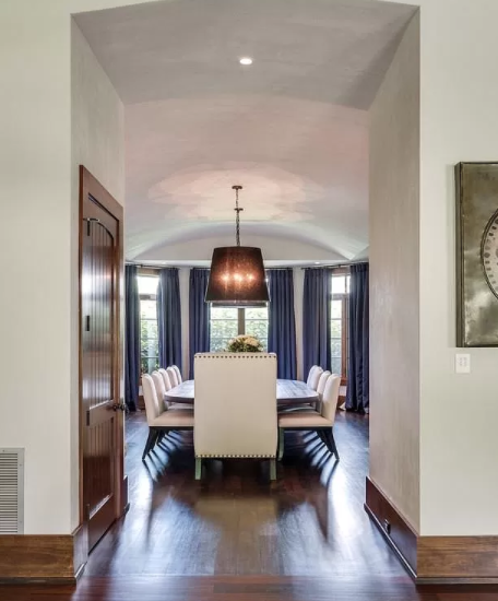 Kristin and Jay Cutler's Bancroft Forest Hills Dining Room