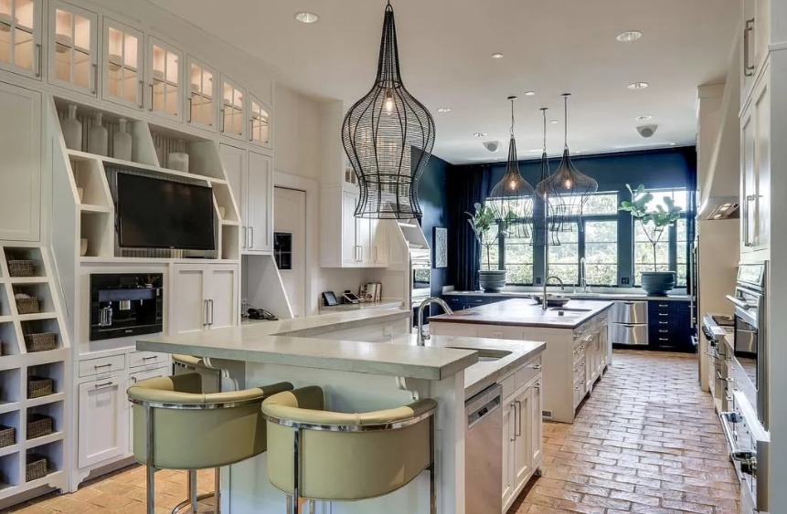 Kristin and Jay Cutler's Bancroft (Forest Hills) House Kitchen