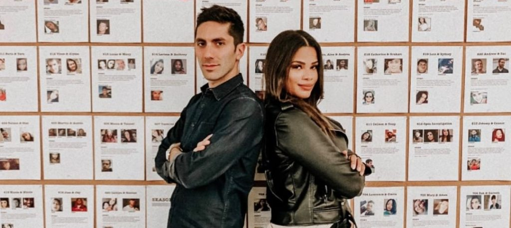 Kamie Crawford and Nev Schulman for Catfish The TV Show