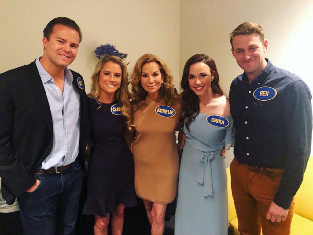 Kathie Lee Gifford and family tape Celebrity Family Feud