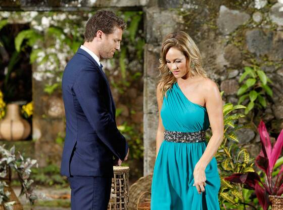 Clare Crawley with Juan Pablo on The Bachelor 2014