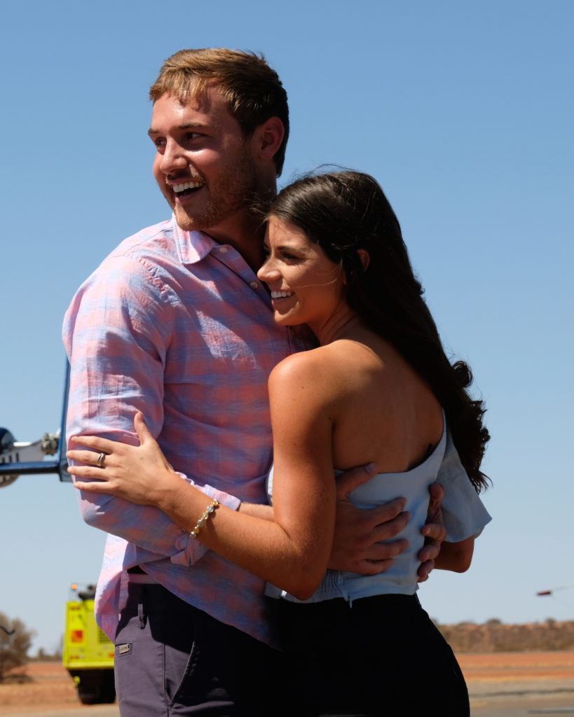 Peter Weber and Madison Prewett from The Bachelor Finale