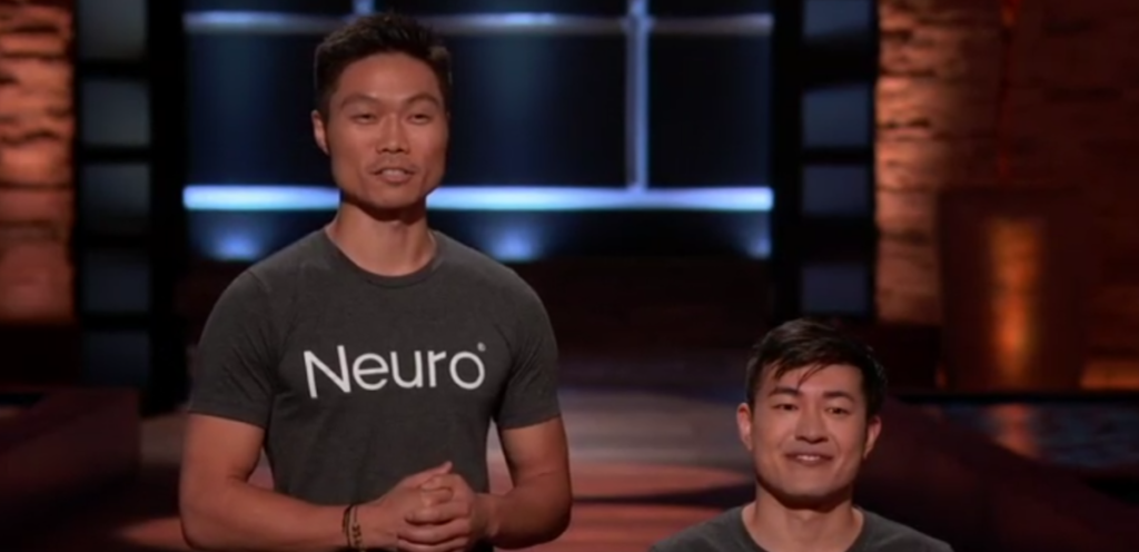 Kent and Ryan from Neuro Gum on Shark Tank