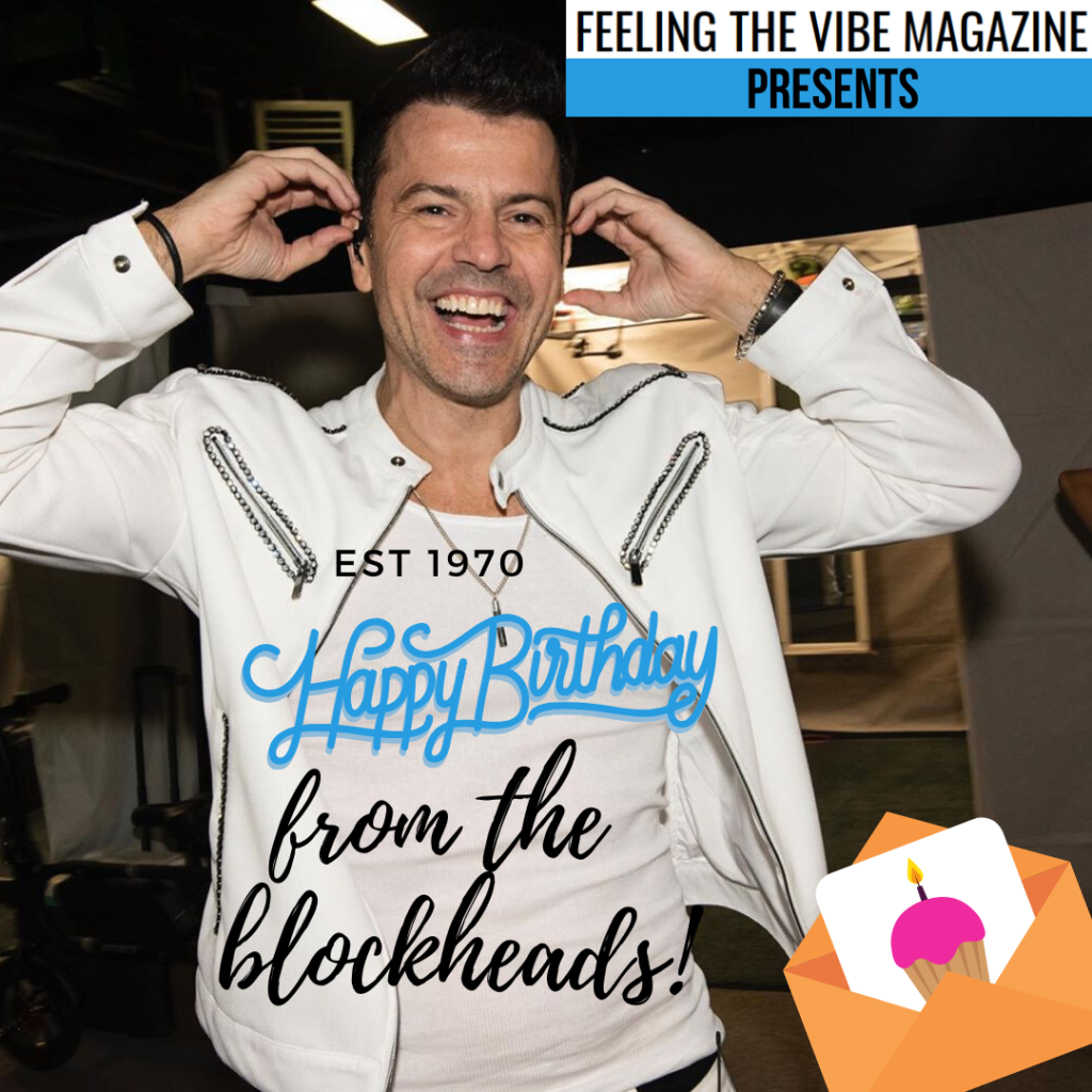 Happy 50th Birthday Jordan Knight- See Inside for Messages from Blockheads!