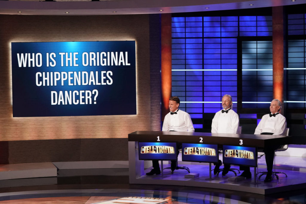 chippendales dancer contestants on To Tell the Truth