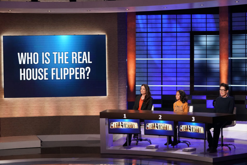 house flipper contestants to tell the truth