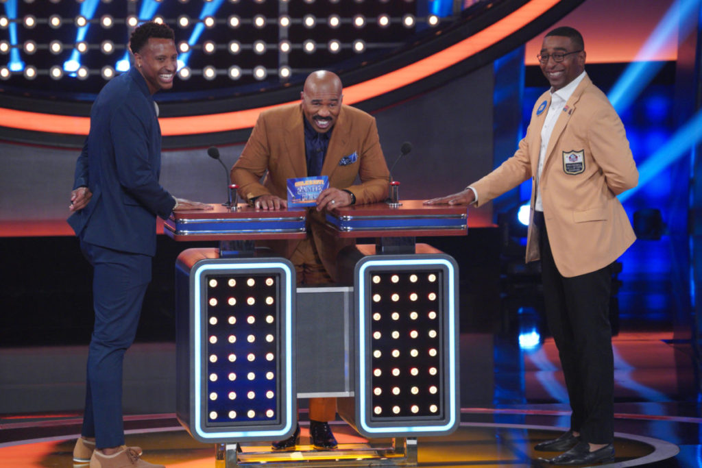 NFL Hall of Famers To Compete on Celebrity Family Feud- See Photos!