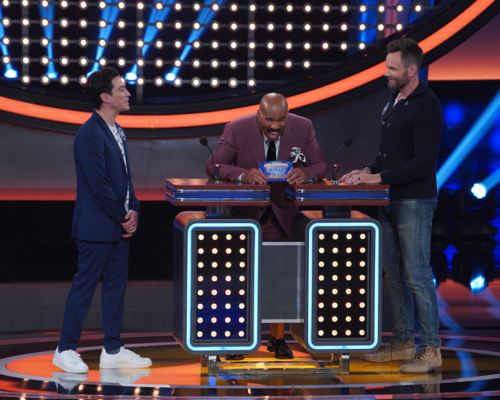 Ben Feldman vs Joel McHale, Celebrity Family Feud