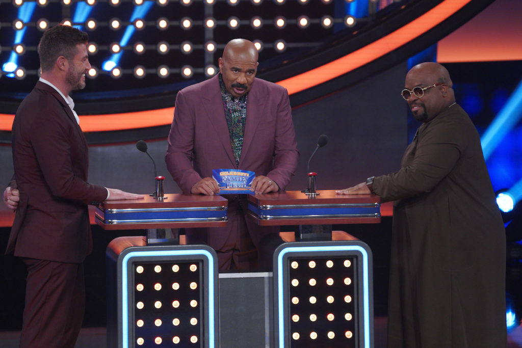 Jesse Palmer vs Cee Lo Green on Celebrity Family Feud – See Photos!