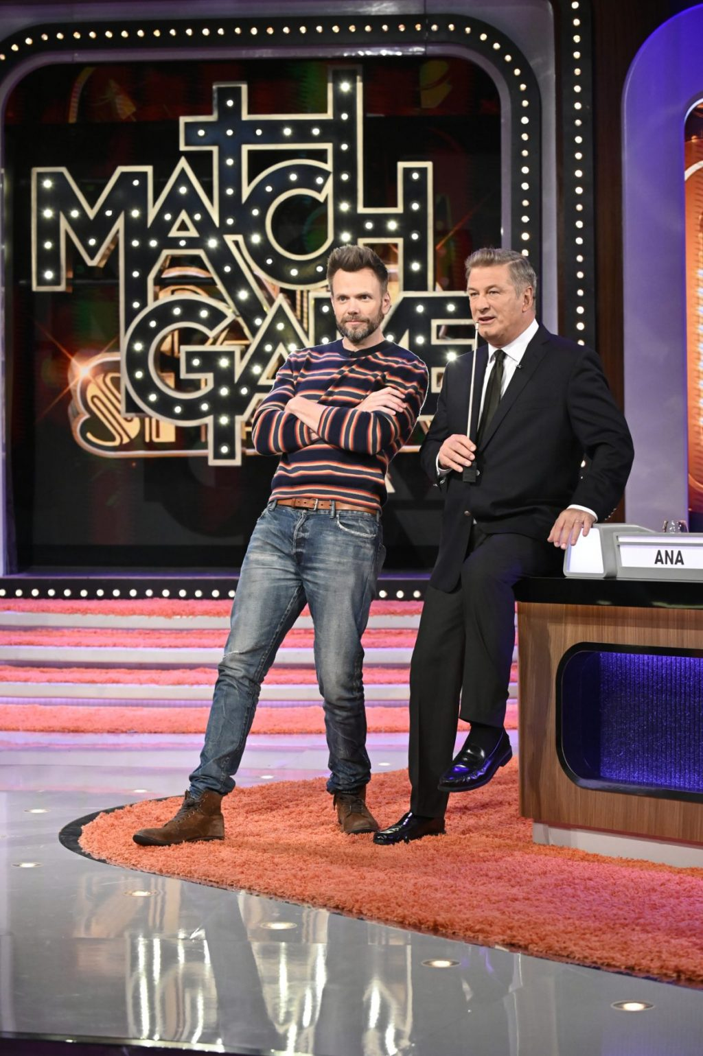 Joel McHale on The Match Game October 8th