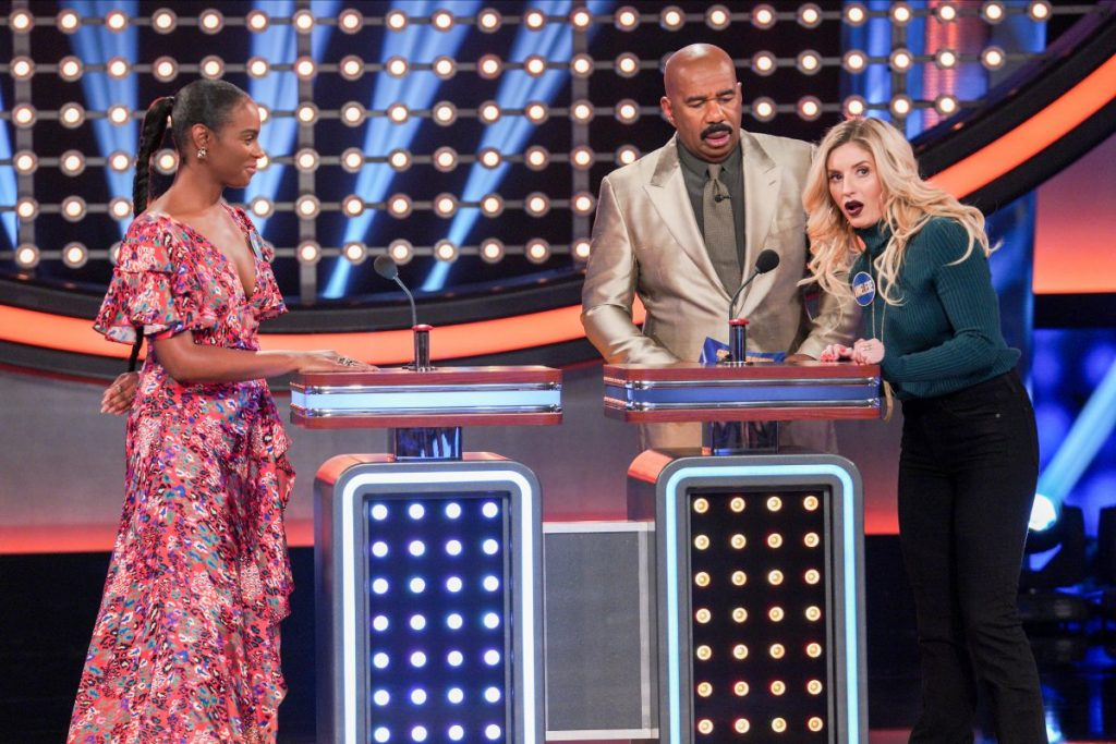 mixed-ish vs disney channel moms on celebrity family feud