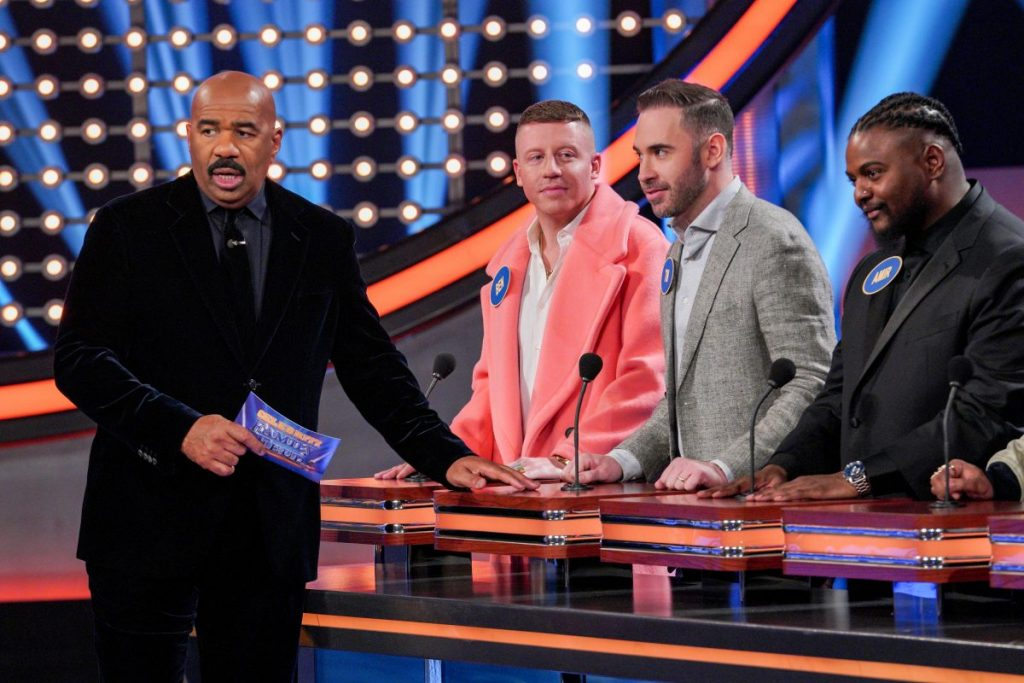 Macklemore Joins Yachty and the Sailing Team on 'Celebrity Family Feud'- See Photos!