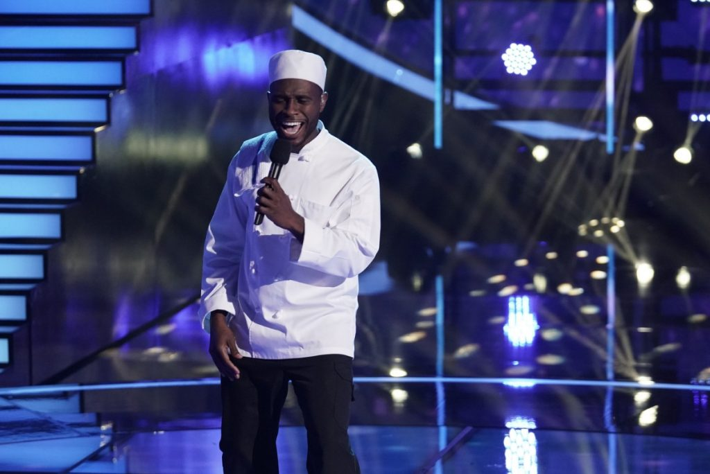 The chef on FOX's I Can See Your Voice