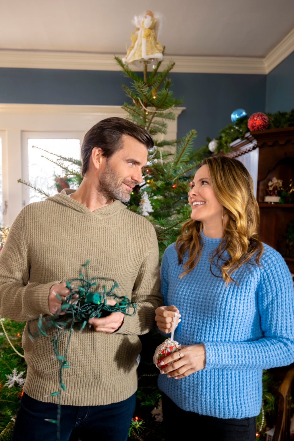 Lucas Bryant and Jill Wagner for The Angel Tree