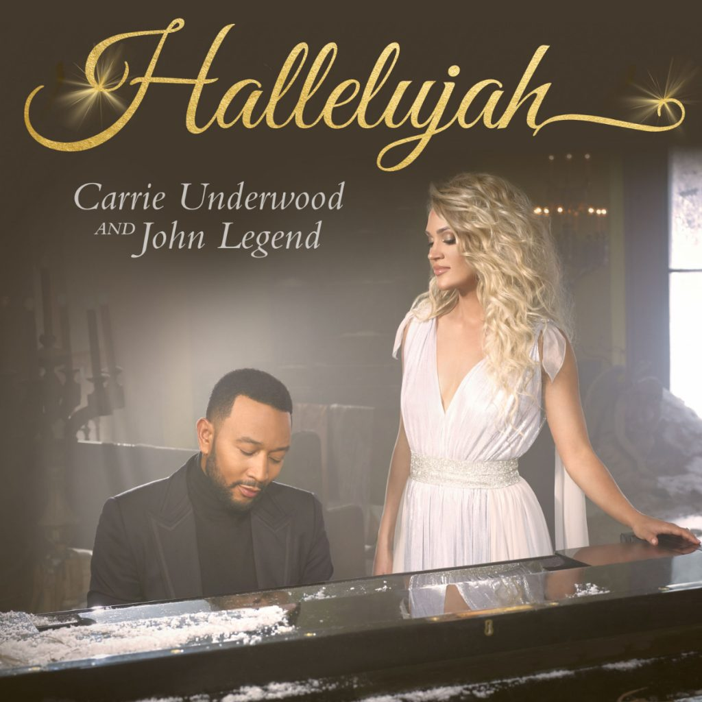 Carrie Underwood and John Legend Are in the Christmas Mood With Their Song 'Hallelujah'