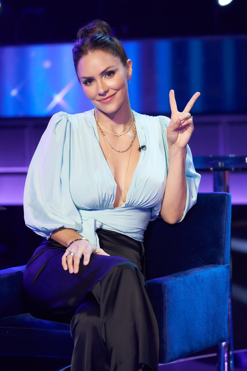 Katharine McPhee on I Can See Your Voice
