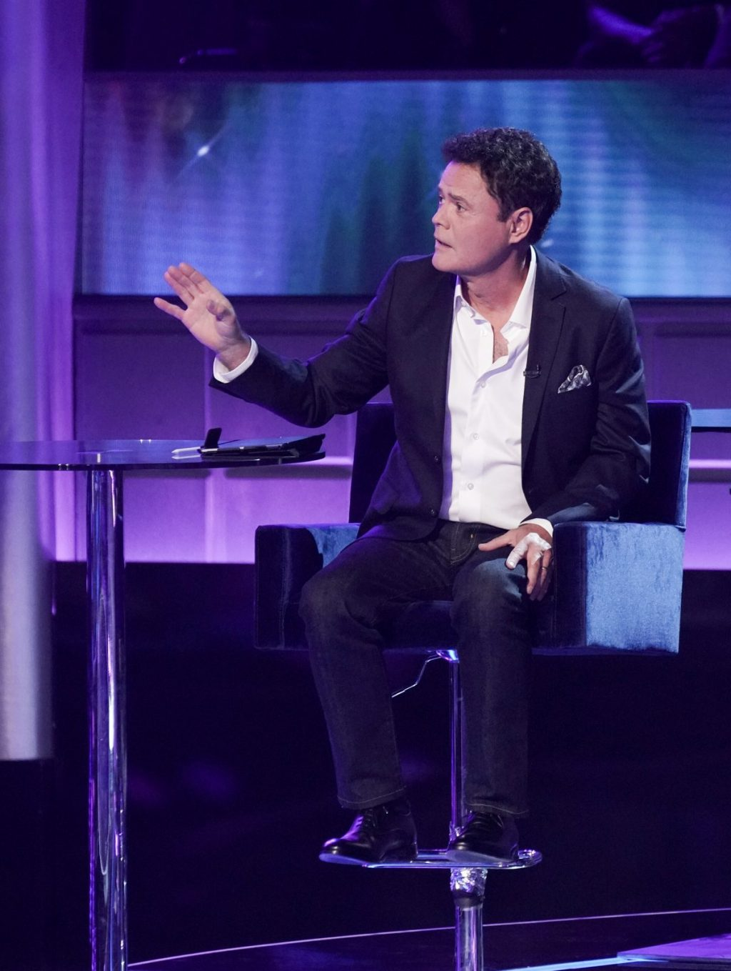 Donny Osmond on I Can See Your Voice