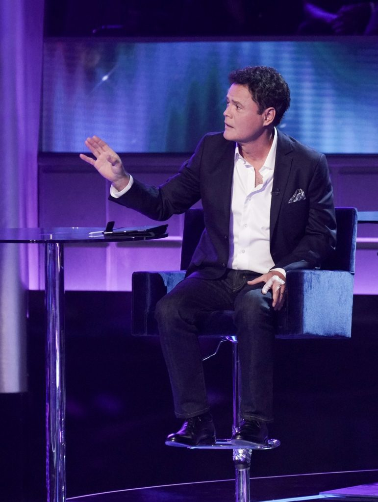 Donny Osmond Plays Detective in 'I Can See Your Voice' on FOX