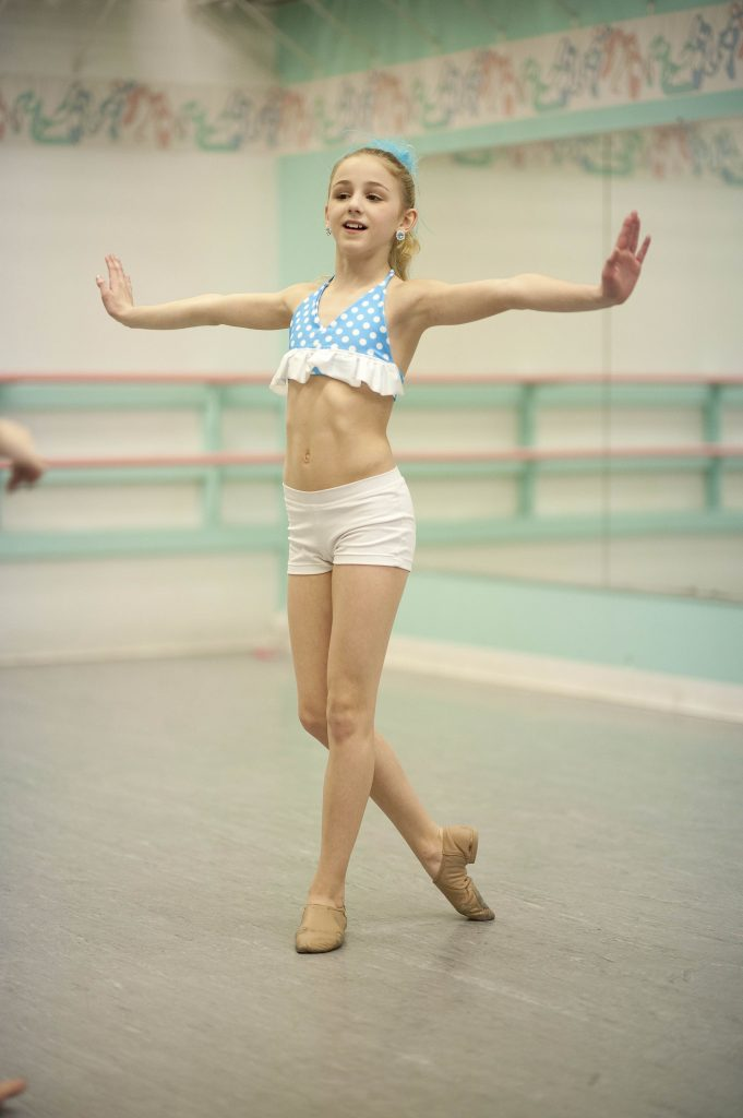 Chloe Lukasiak from Dance Moms Young