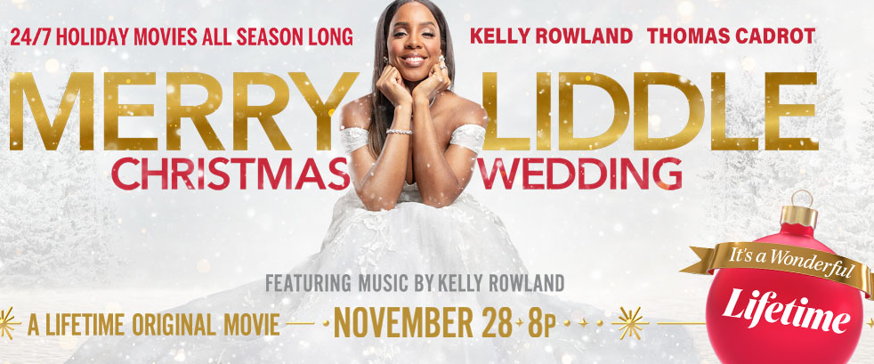 "Kelly Rowland Sings ""We Need a Little Christmas"" for Lifetime's Sequel Movie"