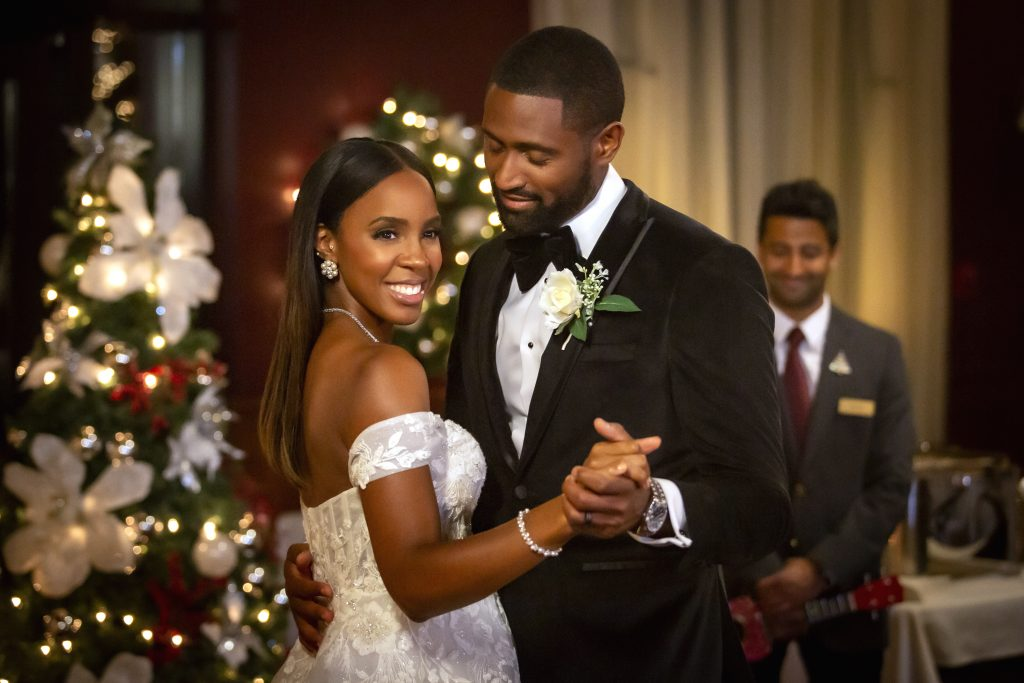 Lifetime's 'Merry Liddle Christmas Wedding' Starring Kelly Rowland, See Full Cast & Video