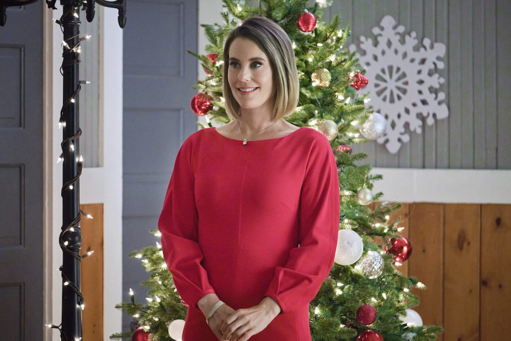 Get the Looks from Hallmark's New Movie, Never Kiss a Man in a Christmas Sweater