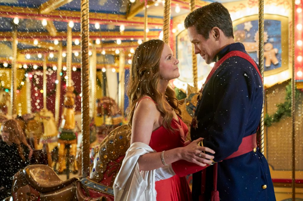 'A Christmas Carousel': Cast, Preview, & More on the New 2020 Hallmark Movie Starring Rachel Boston