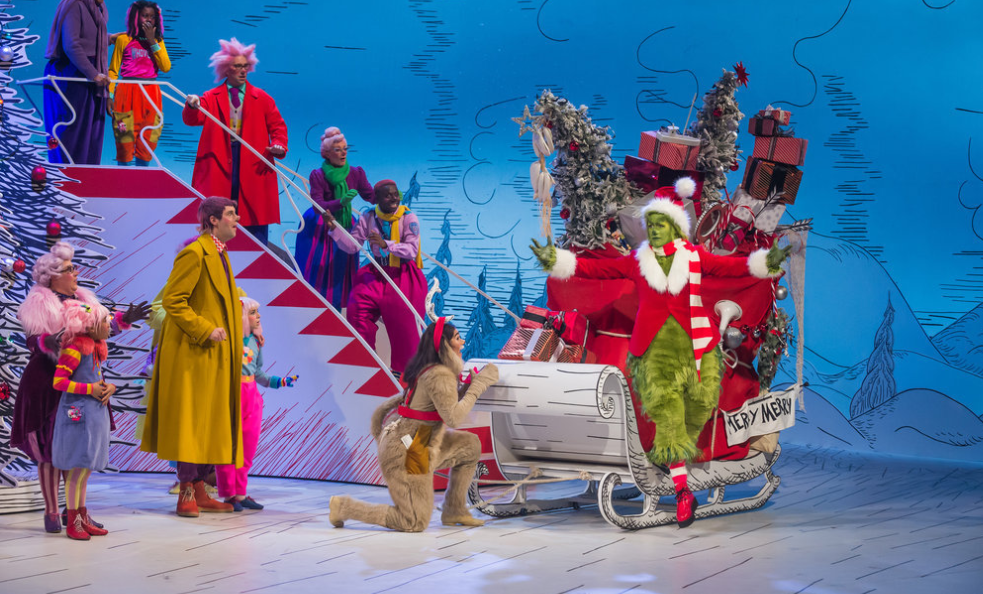 Watch Matthew Morrison Turn Into the Grinch for NBC's Dr. Seuss' The Grinch Musical!