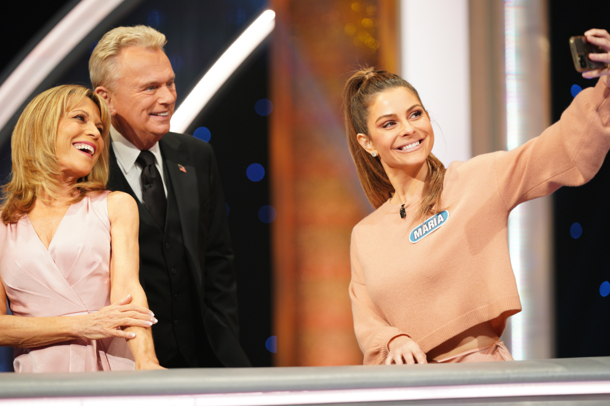 Maria Menounos Constance Zimmer Yvette Nicole Brown On Celebrity Wheel Of Fortune Feeling The Vibe Magazine
