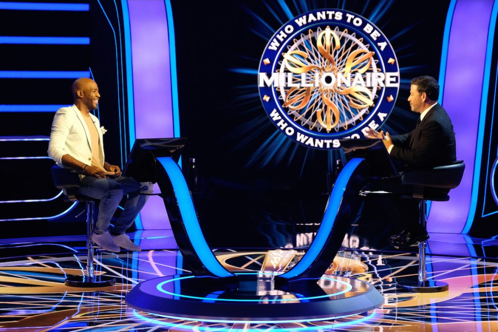 KARAMO BROWN, WHO WANTS TO BE A MILLIONAIRE
