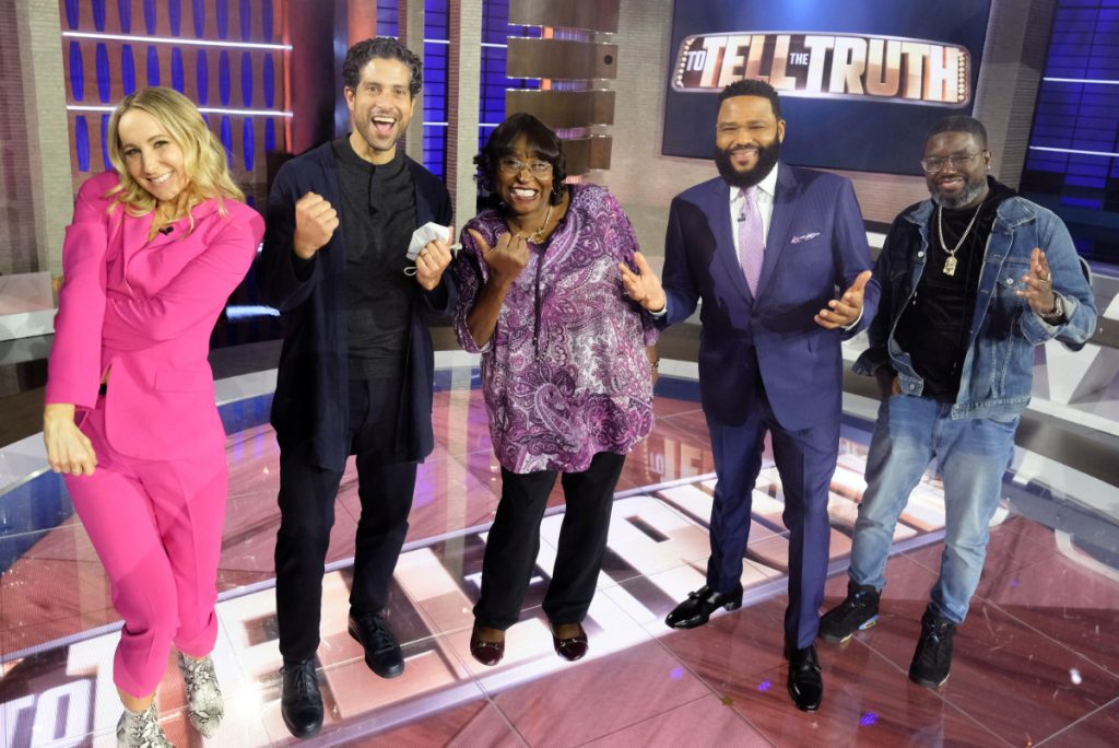 Adam Rodriguez & Nikki Glaser Competing on ABC's To Tell the Truth 2021 – See Photos!