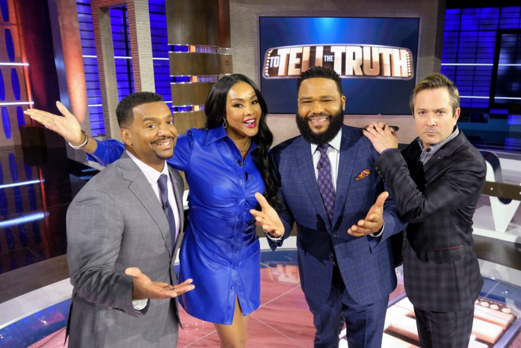 Alfonso Ribeiro, Vivica A Fox, and Tom Lennon on To Tell the Truth
