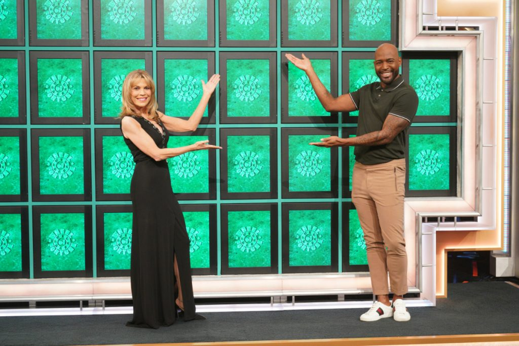 Karamo Brown and Vanna White on Celebrity Wheel of Fortune Feb 18