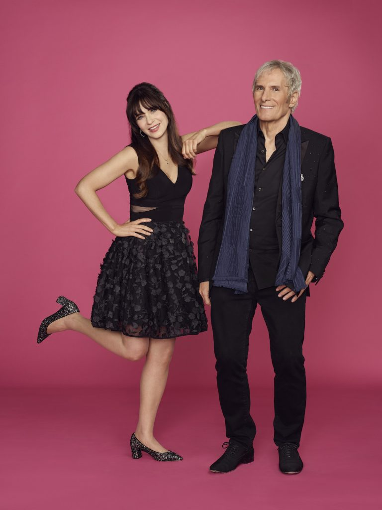 'Celebrity Dating Game' Coming to ABC in 2021 Hosted by Zooey Deschanel & Michael Bolton