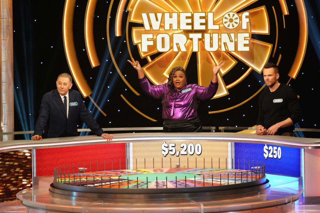 Nicole Byer, Joel McHale, & Paul Reubens Compete on 'Celebrity Wheel of Fortune'