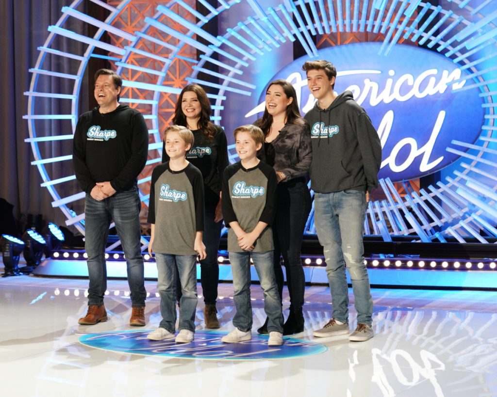 Meet the Sharpe Family Singers Featuring Samantha Sharpe from 'American Idol'