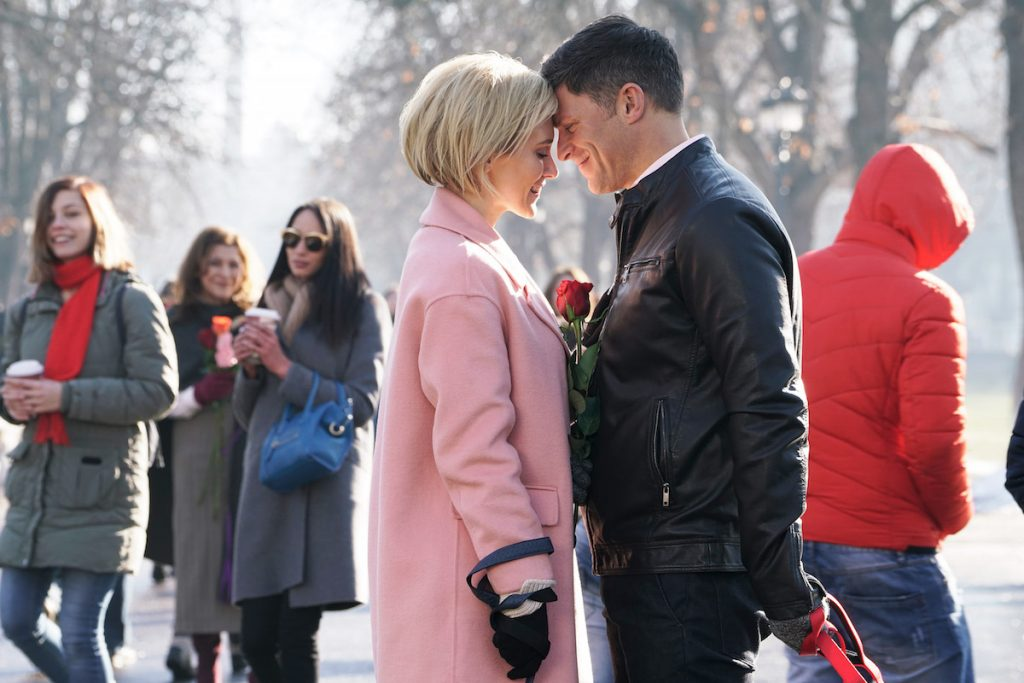 'Valentine's Again': Nicky Whelan & Greg Vaughan Star in New 2021 Hallmark Movie