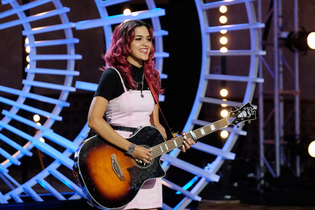 Andrea Valles from American Idol