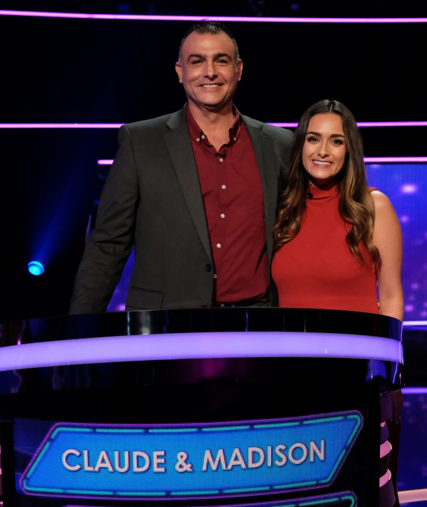 Claude and Madison from Game of Talents