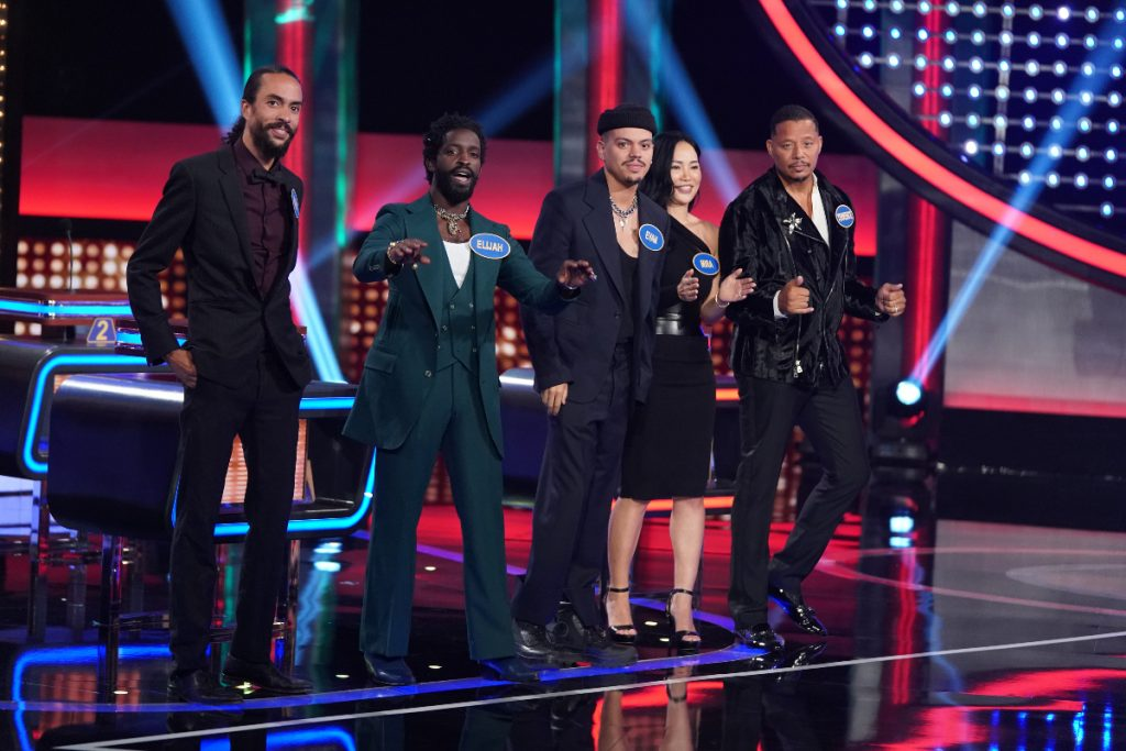 Team Rob Lowe vs. Team Terrence Howard on 'Celebrity Family Feud' 2021 – See Pics!