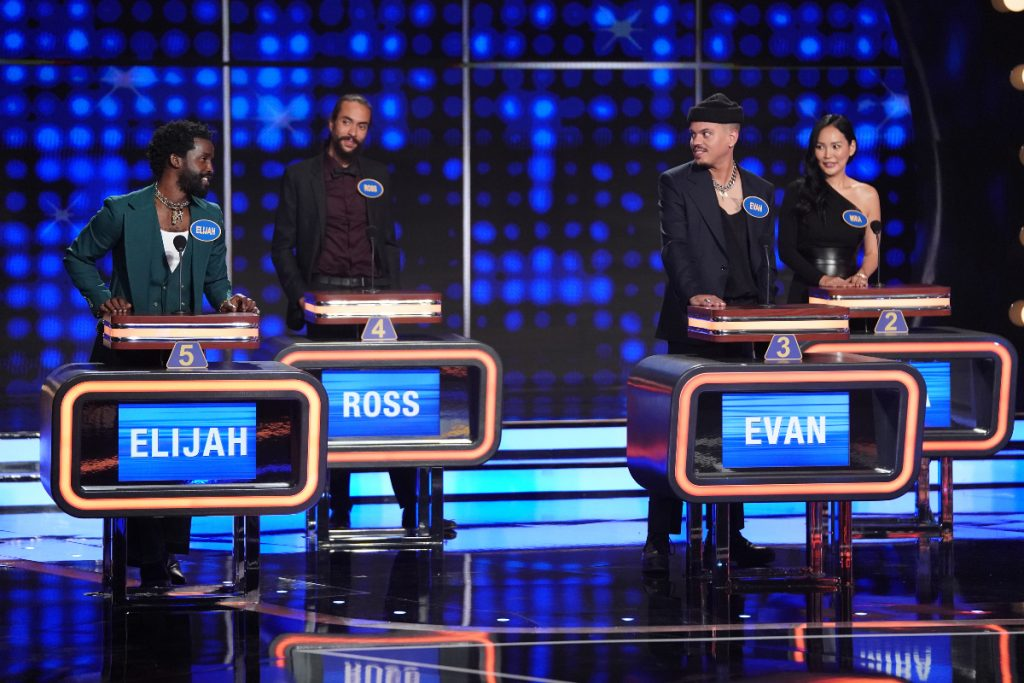 Evan Ross on Celebrity Family Feud